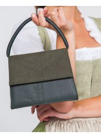Ledertasche Desiree tannengrün